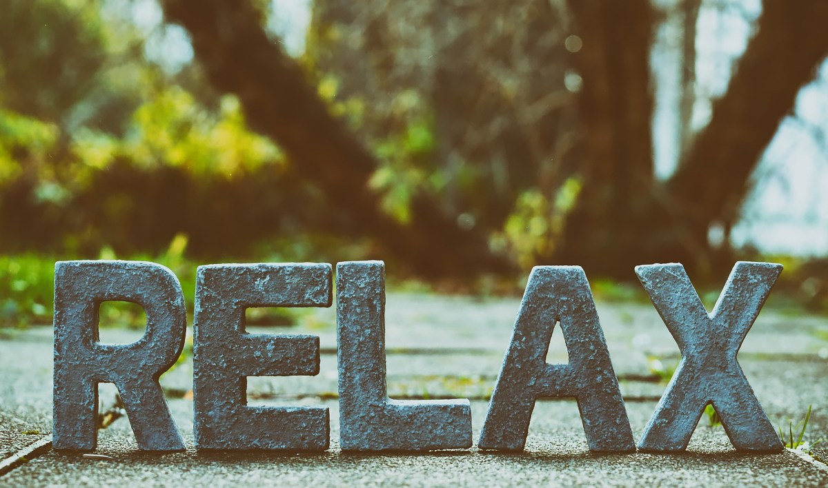 peace; calm; relax